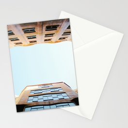 Looking Up in La Pedrera Stationery Cards