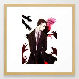 Six of Crows - Kaz Brekker Framed Art Print