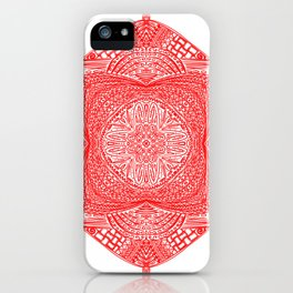 Maori Inspired Designs iPhone Case