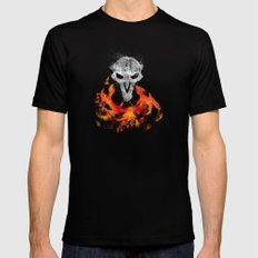 Smoke and Ash :: Reaper LARGE Mens Fitted Tee Black