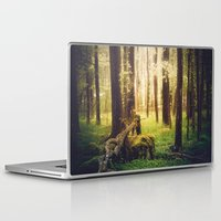outdoor Laptop & iPad Skins featuring Come to me by HappyMelvin