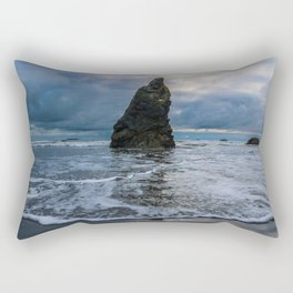 Ruby Beach Spire Rectangular Pillow
