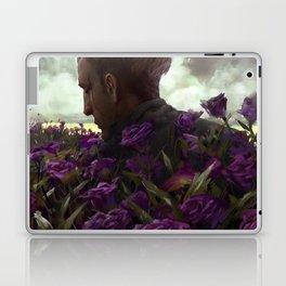 Isaac lisianthus Laptop & iPad Skin