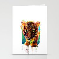 tiger Stationery Cards featuring tiger by ururuty