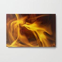 Flight Of The Firelight Metal Print