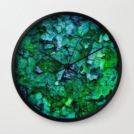 Underwater Wood 2 Wall Clock