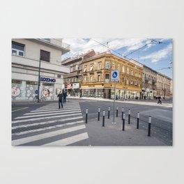 Zagreb 1.1 Canvas Print