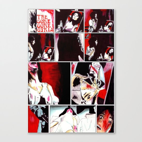 The Gore Gore Girls Canvas Print