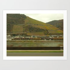 Rheinland Art Print