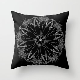 Flower Lace Throw Pillow