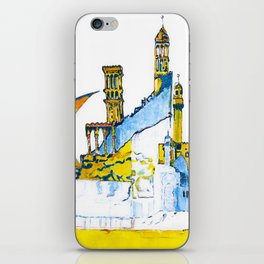 Sharjah Traditional Art in water colour iPhone Skin