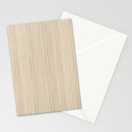 Beige / Tan / Neutral  Smooth Wood Grain Pattern Pairs To 2020 Color of the Year Chinese Porcelain Stationery Cards