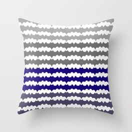 Ombre Abstract Pattern Throw Pillow