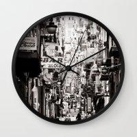 italy Wall Clocks featuring Italy  by Kráľ Juraj