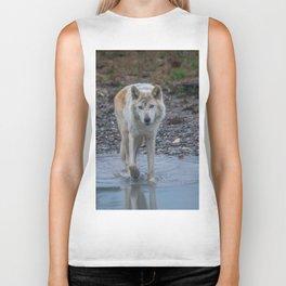 White Wolf Biker Tank