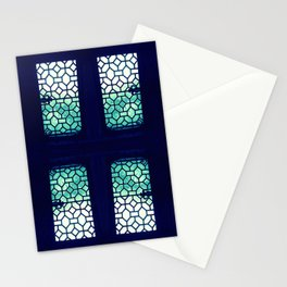 Jaded Pane Stationery Cards
