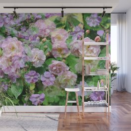 mixed flowers Wall Mural