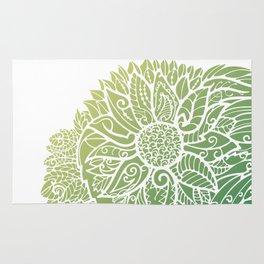 Pattern flower Rug