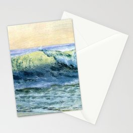 The Wave By Albert Bierstadt | Reproduction Painting Stationery Cards