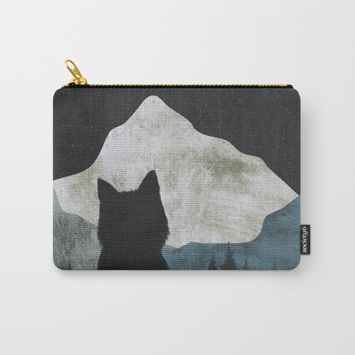 Black Cat 2 Carry-All Pouch