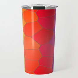 Coloured Mosaic Travel Mug