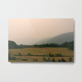 West Virginia Farmer Metal Print