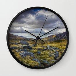 Nant Ffrancon Valley Wall Clock