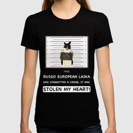 Russo European Laika Mugshot T-shirt