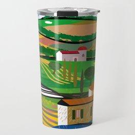 Green Fields Travel Mug