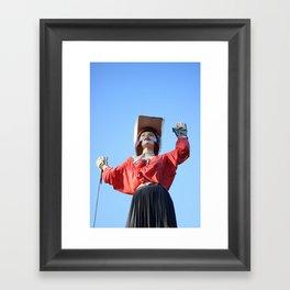 UniRoyal Gal: Cowgirl Framed Art Print