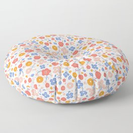 Lucy pattern Floor Pillow