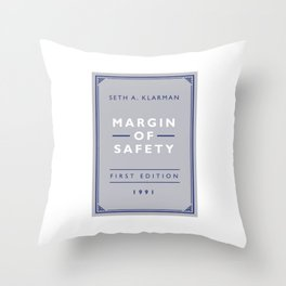 Margin Of Safety - Seth Klarman (Investment Classics) Throw Pillow