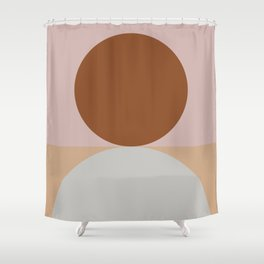Abstract Geometric #fallwinter #colortrend #decor Shower Curtain