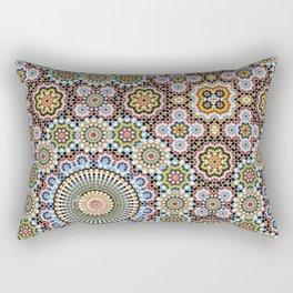 turkish mosaics  Rectangular Pillow