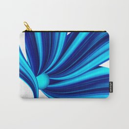 Abstract blue 208 Carry-All Pouch