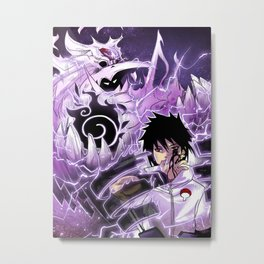 Sasuke Uchiha Metal Print