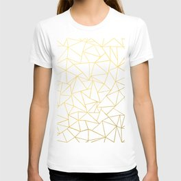 Ab Outline White Gold T-shirt