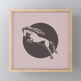 Ride On Framed Mini Art Print