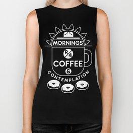 Coffee & Contemplation Biker Tank