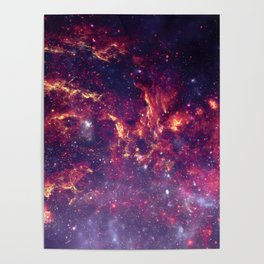 Star Field in Deep Space Poster