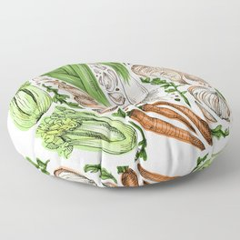 Vegetables Floor Pillow