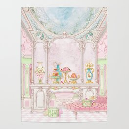 Paris Pink Patisserie Poster