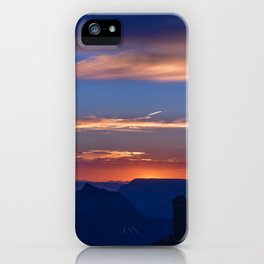 Colorful Sunset - North_Rim, Grand_Canyon, AZ iPhone Case