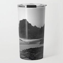 Mist Rolling in at Kynance Cove Travel Mug