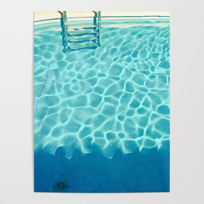 Swimming Pool IX Poster by cassiabeck