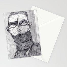 Alisa Ahmann by Txema Yeste - Artist: Leon 47 ( Leon XLVII ) Stationery Cards
