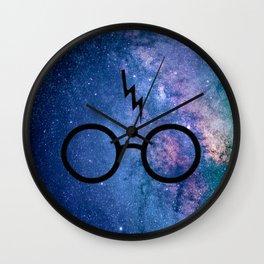 Cosmic Lightning Scar HP Wall Clock