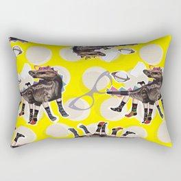 dino diva Rectangular Pillow