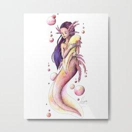 Mermaid 9 Metal Print