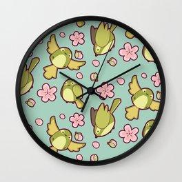 Cutie Patootie Birds Wall Clock